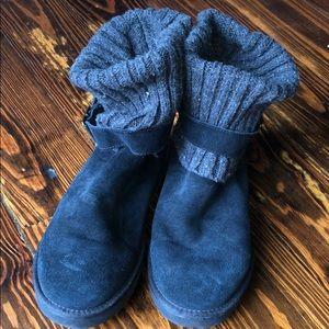 Worn twice, women's black UGG boots